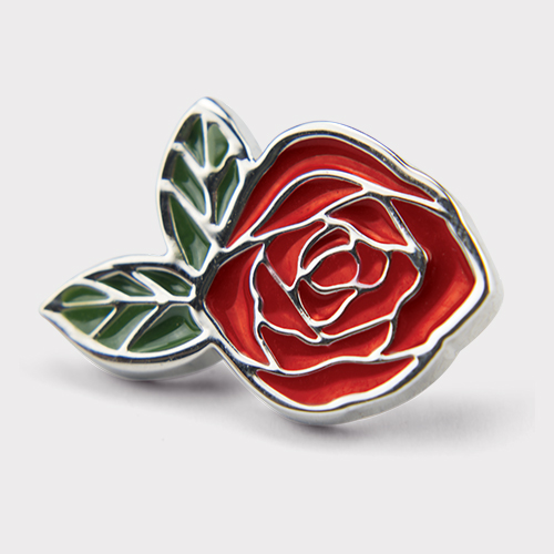 Picture of Red Rose Pin