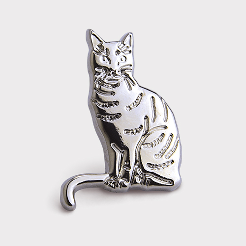 Picture of Silver Cat Pin