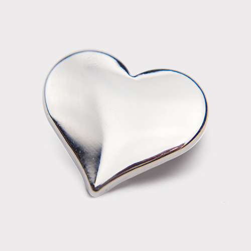 Picture of Silver Heart Pin