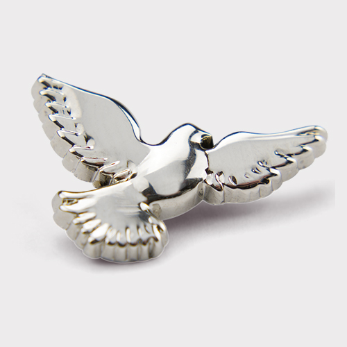 Picture of Silver Dove Pin