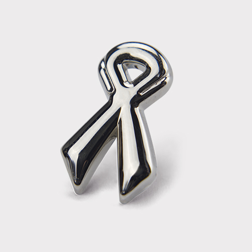 Picture of Silver Ribbon Pin