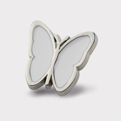 Picture of White Butterfly Pin
